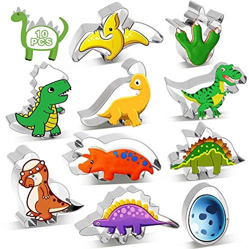 [10 Stück] SYOSIN Ausstechform Dinosaurier...