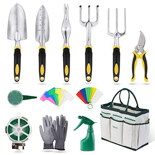 YISSVIC Gartenwerkzeug Set 12-teiliges...