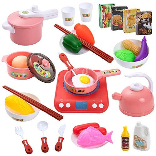Czemo Kinderküche Küchenspielzeug Zubehör...