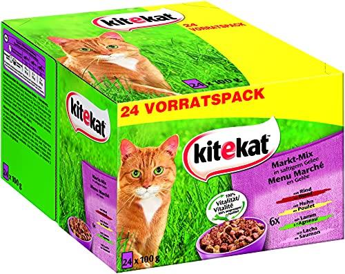 Kitekat Katzenfutter Nassfutter Markt Mix in...