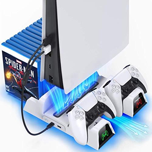 OIVO PS5 Ständer mit Kühler und PS5 Controller...