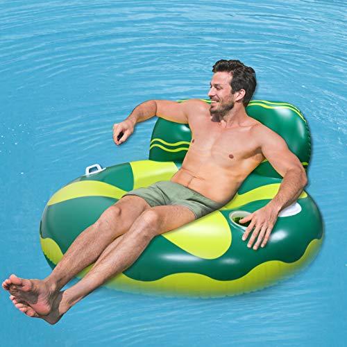 Wasser Hängematte, Aufblasbar Pool Liegestuhl...