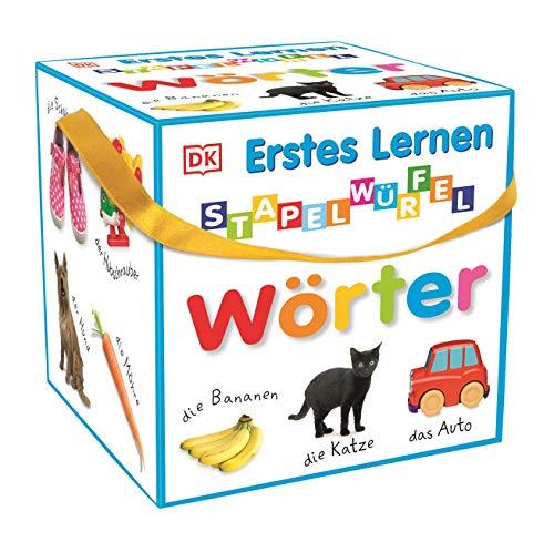 Erstes Lernen - Stapelwürfel Wörter: 10 stabile...