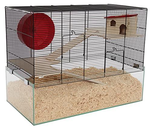 PETGARD Mäuse- und Hamsterkäfig, Nagarium mit...