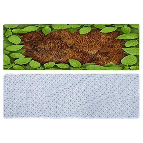 Green Leaf Mat rutschfeste Green Leaf Teppich...