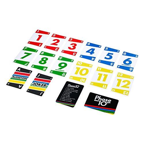 Mattel Games FPW38 - Phase 10 Kartenspiel und...