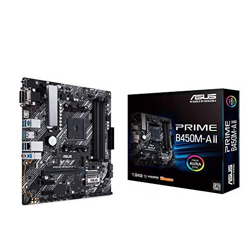 Asus Prime B450M-A II Mainboard Sockel AM4 (mATX,...