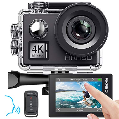 AKASO Action cam 4K/60fps /Action Kamera 20MP WiFi...