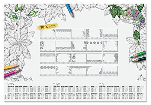 SIGEL HO540 Papier-Schreibunterlage, ca. DIN A2 -...