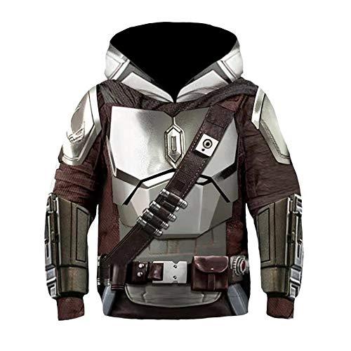 Mandalorian Hoodie SW Film Cosplay Kostüm...