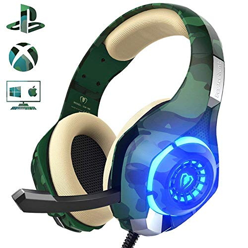 Beexcellent Gaming Headset für PS4 PC Xbox One,...