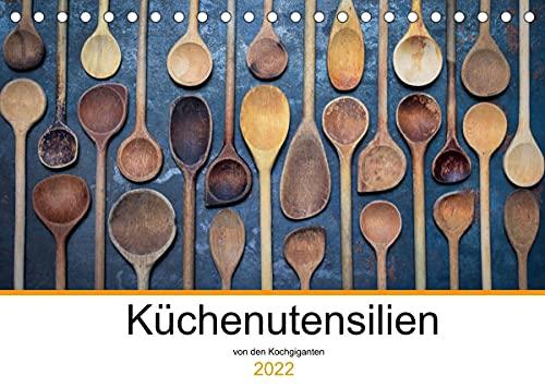 Küchenutensilien (Tischkalender 2022 DIN A5 quer)