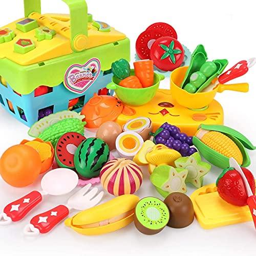 REMOKING Lebensmittel Spielzeug Set für Kinder,...