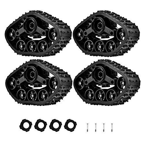 RC LKW-Reifen, 4 Stücke Spur Rad Reifen Crawler...