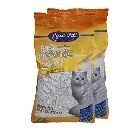 White Cat 2 x 15 L Katzenstreu klumpend mit...