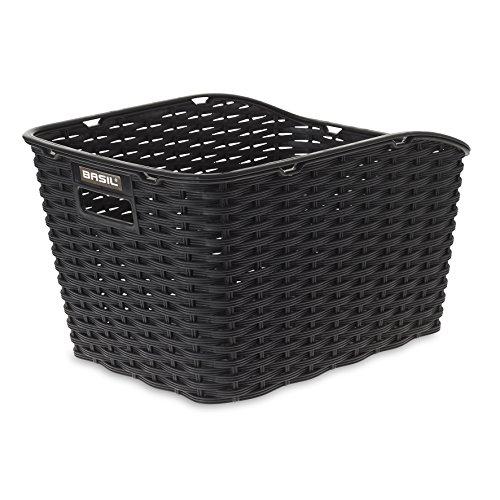 Basil Fahrradkorb Weave Wp, Black, einheitsgröße