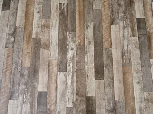 PVC Bodenbelag in markantem Holz-Design...