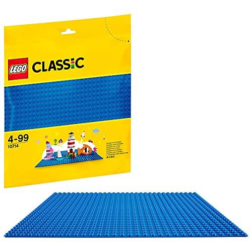 LEGO 10714 Classic Blaue Bauplatte, 25 cm x 25 cm,...