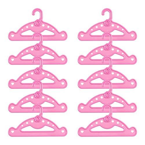 LORELO Kleiderbügel, für Puppen-Kleidung,...