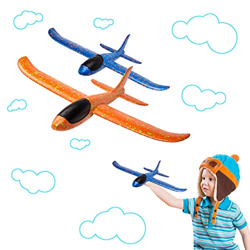 BeYumi 2pcs Flugzeug,Flugzeugspielzeug, manuelles...