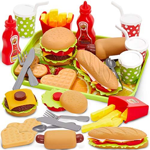 Buyger Kinder Küchenspielzeug Lebensmittel...