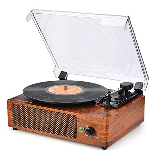 Plattenspieler mit Lautsprecher Plattenspieler...