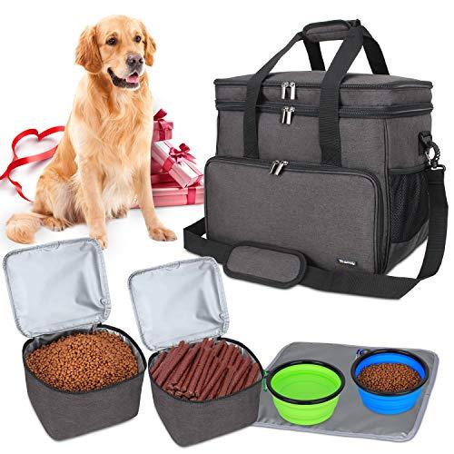 Teamoy Reisetasche für Hundeausrüstung,...