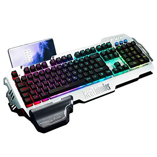 RedThunder K900 Halbmechanisch Gaming Tastatur...