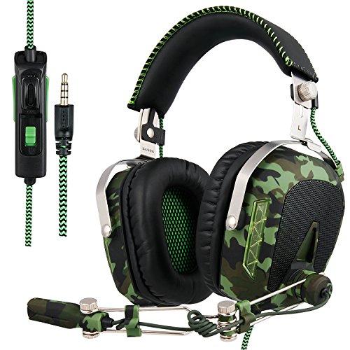 SADES Aktualisiert SA926T Kopfhörer PS4 Headset...