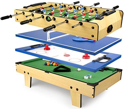 Leomark Multigame Mobile Spieltisch ~aus Holz...
