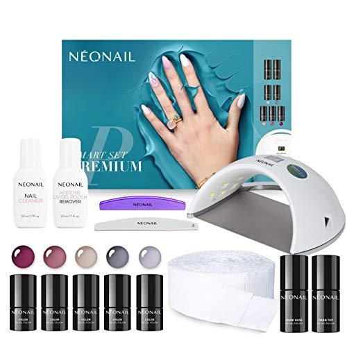 NEONAIL Smart Set Premium mit LED Lampe ECO 5x UV...