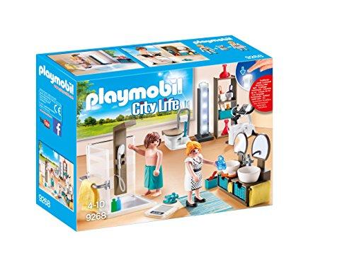PLAYMOBIL City Life 9268 Badezimmer, Mit...