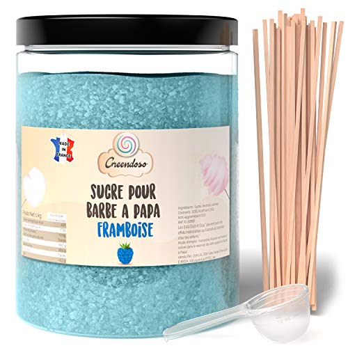 Greendoso-Zuckerwatte Zucker, Aromazucker 1 kg...