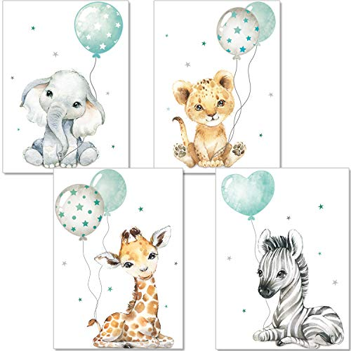 artpin® Poster Kinderzimmer - Bilder Babyzimmer...