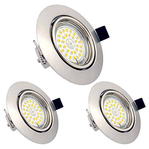 LED Einbaustrahler dimmbar ohne Dimmer GU10 6W...