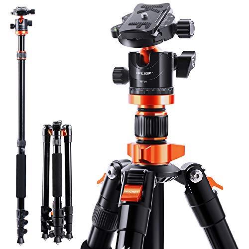 K&F Concept 200cm Stativ, S210 Aluminium Kamera...