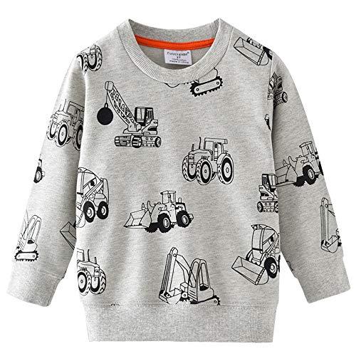 Little Hand Jungen Sweatshirt Jumper für Kinder...