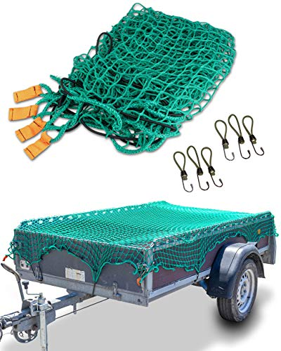 CargoVA® Intelligentes Anhängernetz 2x3M -...