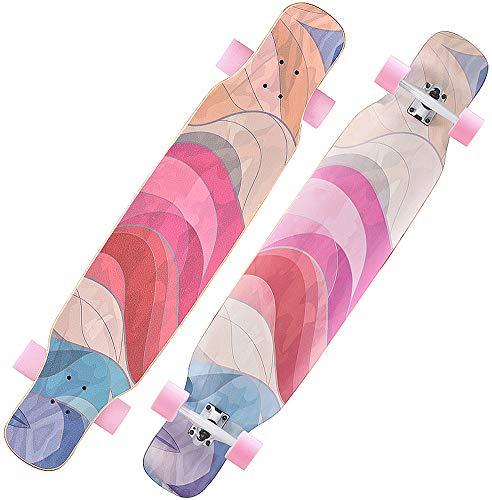 Longboard Skateboards Anfänger Erwachsene Jungen...