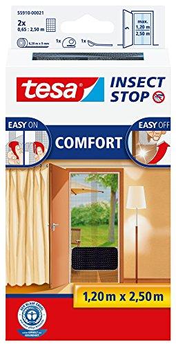 tesa Insect Stop COMFORT Fliegengitter für Türen...