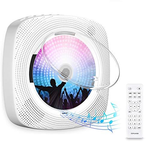 Gueray CD-Player für Wandmontage mit Bluetooth...