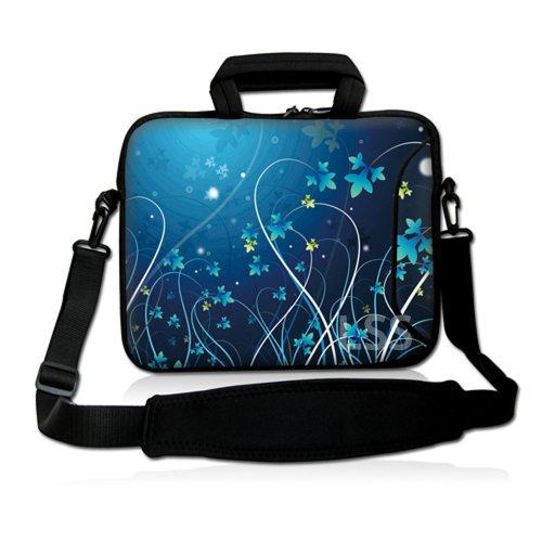 LSS Laptoptasche mit extra Seitentasche, weicher...