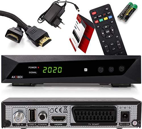 Opticum SBOX HDTV Sat Receiver, Mediaplayer, 1080P...