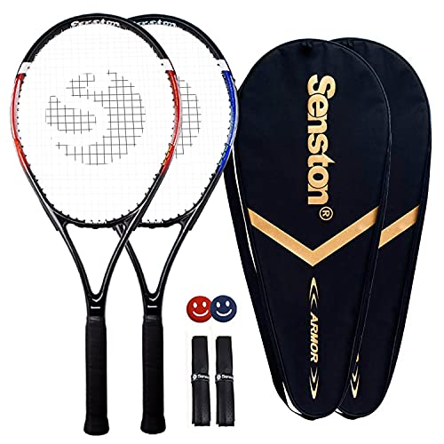 Senston Tennisschläger Damen Herren 2X Tennis...
