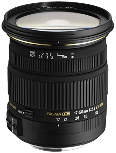 Sigma 17-50 mm F2,8 EX DC OS HSM-Objektiv (77 mm...