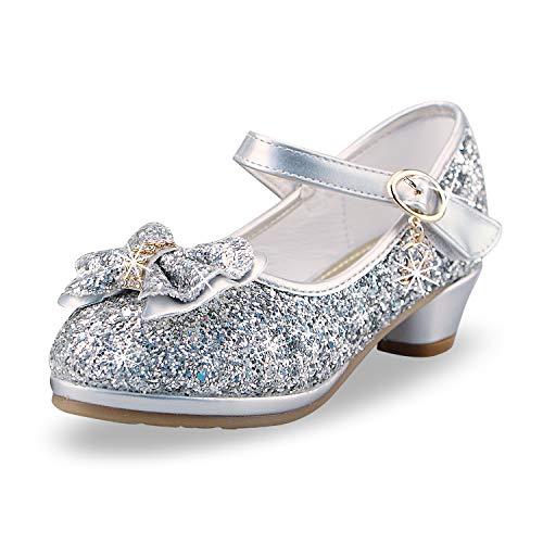 YUHUAWYH Mädchen Prinzessin Schuhe Sommer...