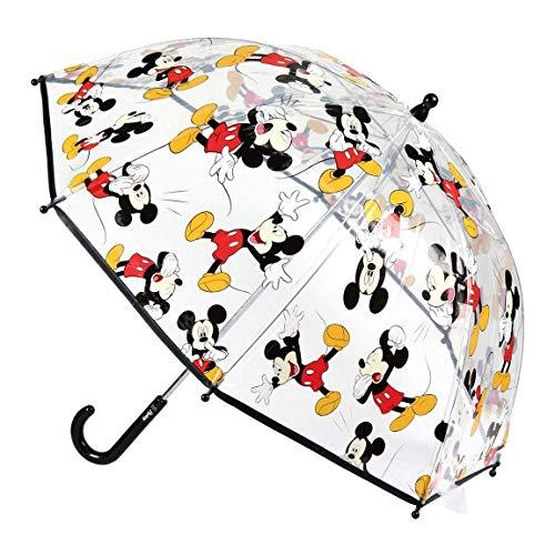 Cerdá-2400-0510 Mickey-Regenschirm, transparent,...