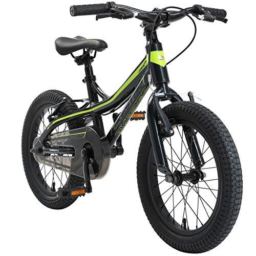 BIKESTAR Kinder Fahrrad Aluminium Mountainbike mit...