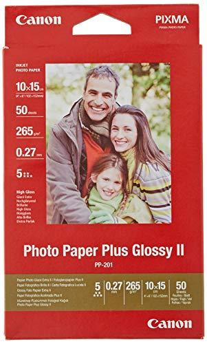 Canon Fotopapier PP-201 glänzend - 10x15 cm 50...