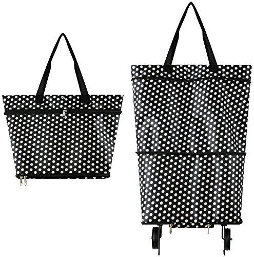 Faltbare Trolley-Taschen, Einkaufstrolley-Tasche...